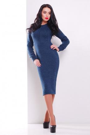 Платье 137. Цвет: джинс