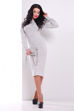 Платье 137. Цвет: светло-серый