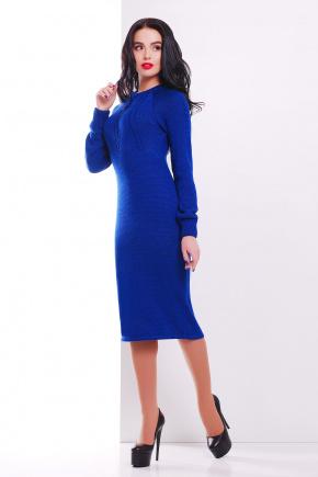 Платье 137. Цвет: электрик
