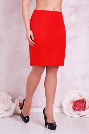 юбка мод. №1 Б. Цвет: красный