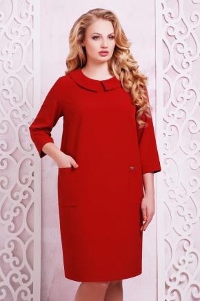 платье Мишель-Б д/р. Цвет: бордовый
