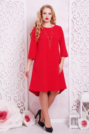 платье Лагуна-Б д/р. Цвет: красный
