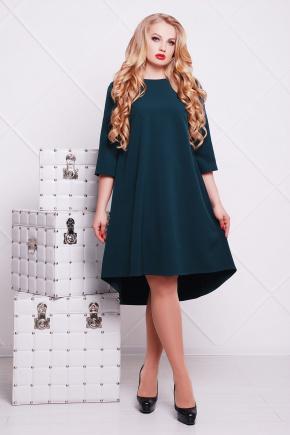 платье Лагуна-Б д/р. Цвет: изумрудный