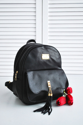 Рюкзак 706-708/1. Цвет: черный