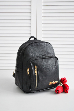Рюкзак 706-708/2. Цвет: черный