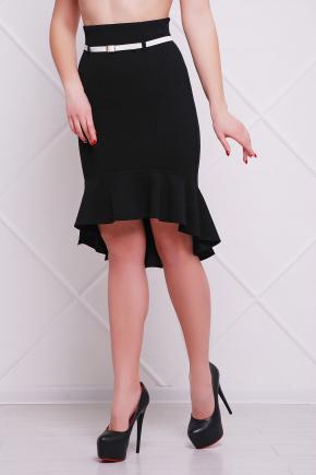 юбка мод. №26. Цвет: черный