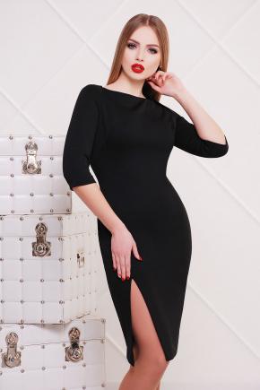 платье Лучера д/р. Цвет: черный