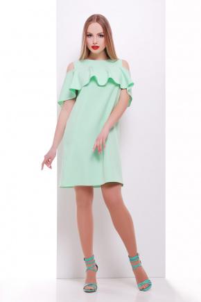 платье Ольбия б/р. Цвет: салатовый