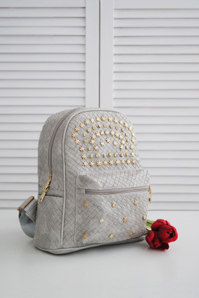 Рюкзак 2876. Цвет: серый