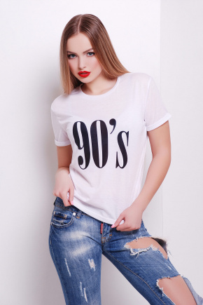90's футболка Boy-2. Цвет: принт