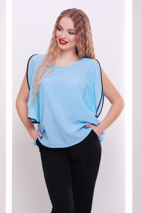 блуза Парма б/р. Цвет: голубой