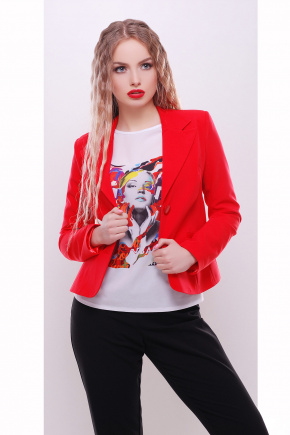 пиджак Жани2. Цвет: красный