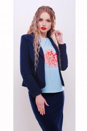 пиджак Жани2. Цвет: синий