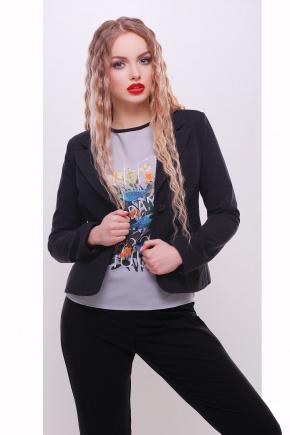 пиджак Жани2. Цвет: черный