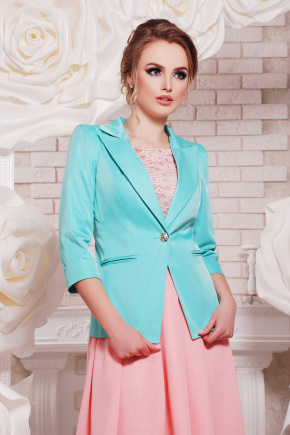 пиджак Леонора-М. Цвет: мята