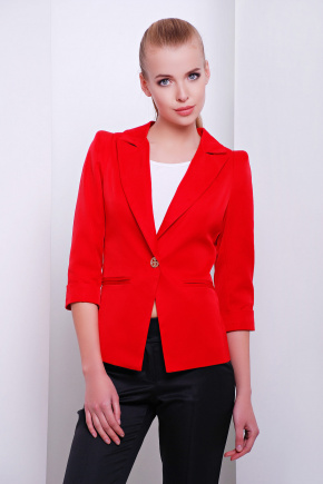 пиджак Леонора-М. Цвет: красный