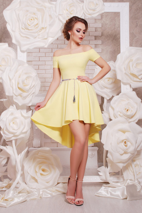 платье Карина к/р. Цвет: желтый