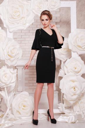 платье Линда к/р. Цвет: черный