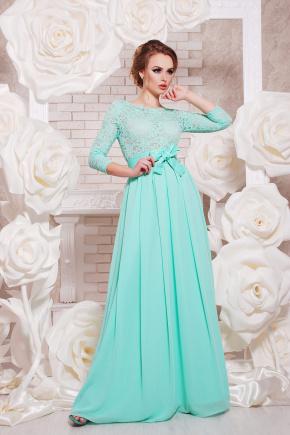 платье Марианна д/р. Цвет: мята
