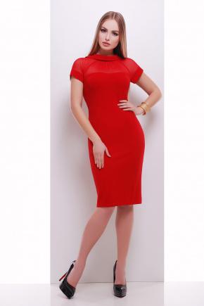 платье Алесандра к/р. Цвет: красный