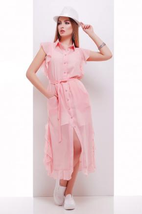 платье-накидка Сан-Вита б/р. Цвет: персик