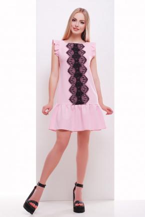 платье Южана б/р. Цвет: розовый