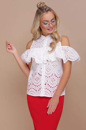 блуза Калелья-П б/р. Цвет: белый