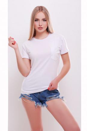 футболка Boy. Цвет: белый