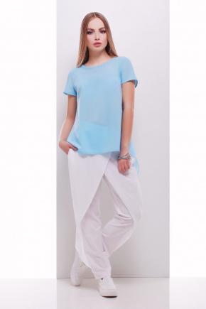 блузон Леванта к/р. Цвет: голубой