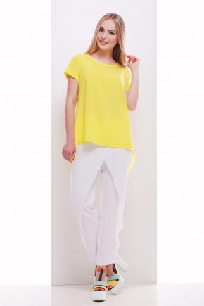 блузон Леванта к/р. Цвет: желтый