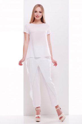 блузон Леванта к/р. Цвет: белый