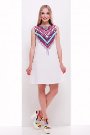 Мексика сарафан Лима2. Цвет: белый