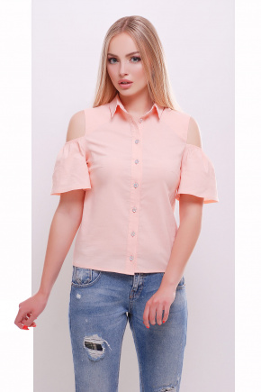 блуза Касана к/р. Цвет: персик