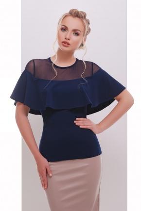 блуза Сонья б/р. Цвет: темно синий