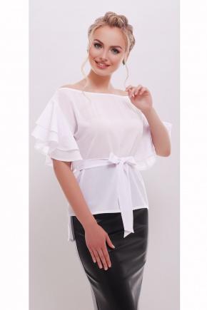 блуза Бьянка к/р. Цвет: белый