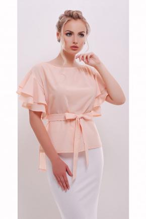 блуза Бьянка к/р. Цвет: персик
