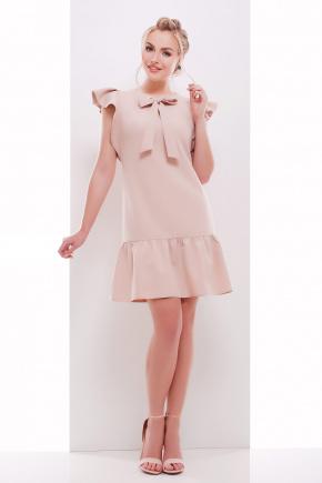 платье Антония б/р. Цвет: бежевый