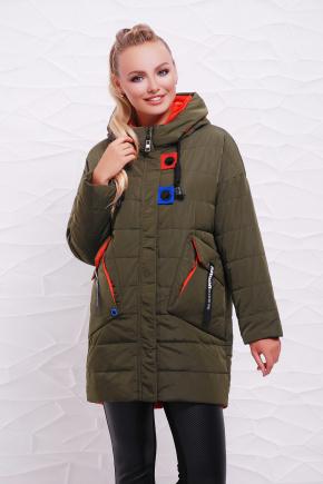 Куртка 17-125. Цвет: хаки