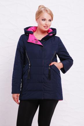 Куртка 17-136. Цвет: темно синий