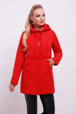 Куртка 17-757. Цвет: красный