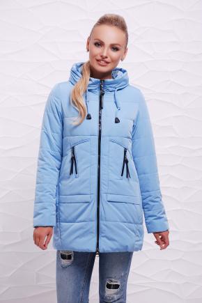 Куртка 17-768. Цвет: голубой
