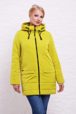 Куртка 17-776. Цвет: горчица