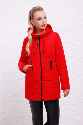 Куртка 17-768. Цвет: красный