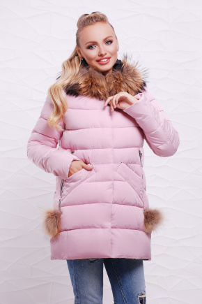 Куртка 297. Цвет: св. розовый