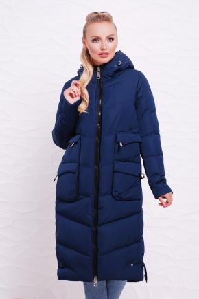 Куртка 362. Цвет: темно синий