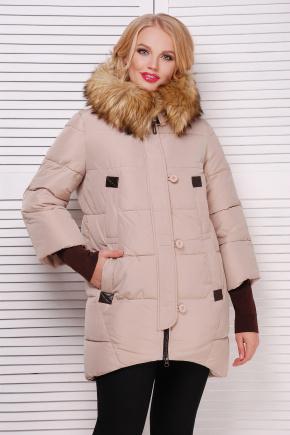 Куртка 226. Цвет: бежевый