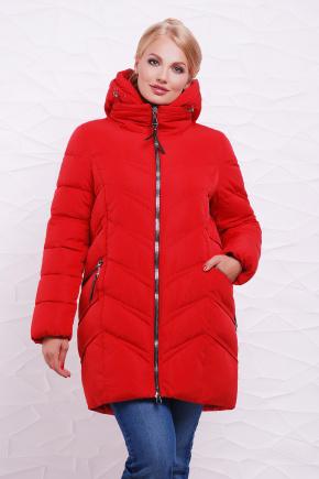 Куртка 6061-1. Цвет: красный