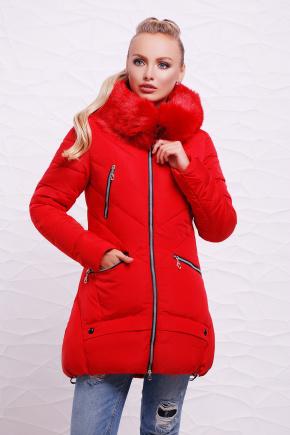 Куртка 888. Цвет: красный