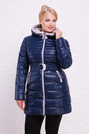 Куртка 9178. Цвет: темно синий