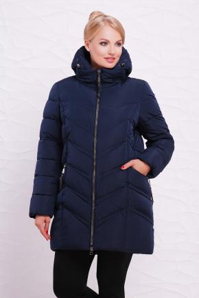 Куртка 6061-1. Цвет: темно синий